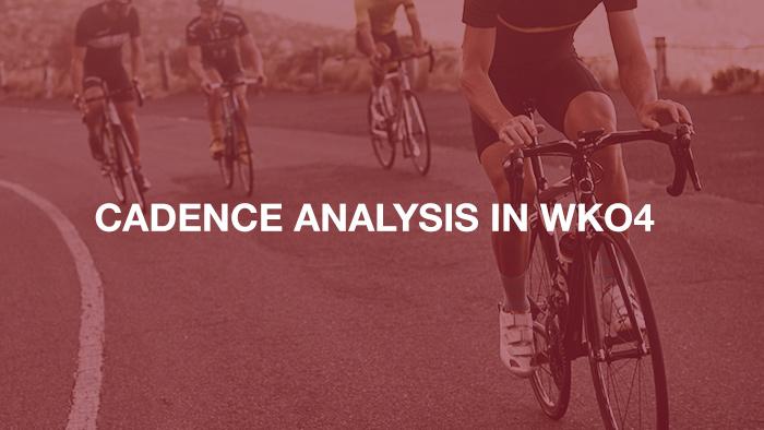Cadence Analysis in WKO4