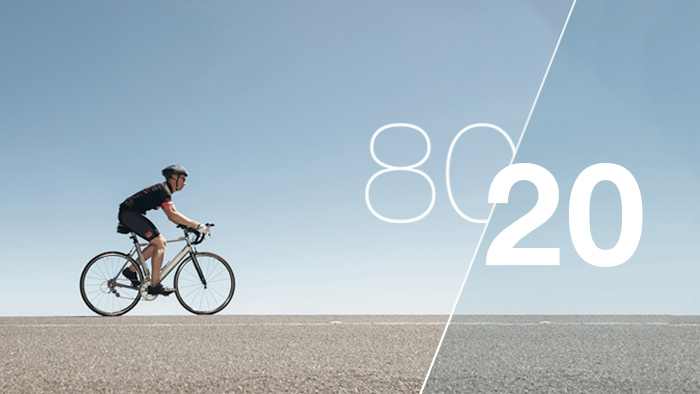 Using the 80/20 Rule to Balance Triathlon Training Intensity