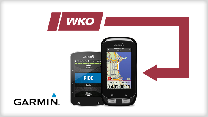WKO4 iLevels Now Compatible With Select Garmin Devices