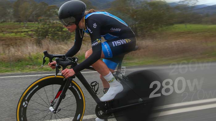 Power Analysis: Anna-Leeza Hull's Junior Women's World Time Trial