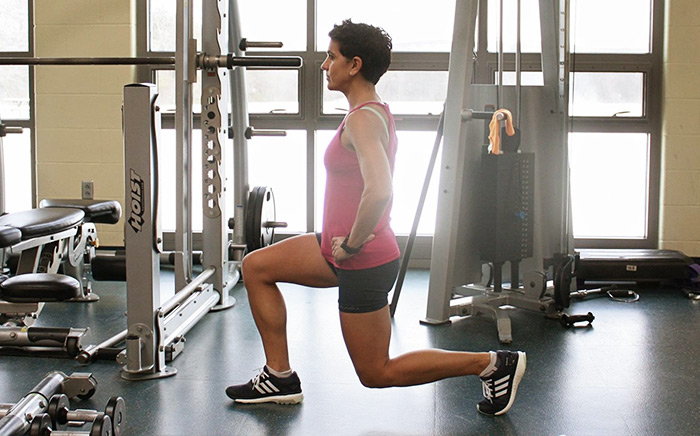 Strength Training for Triathletes Lunge