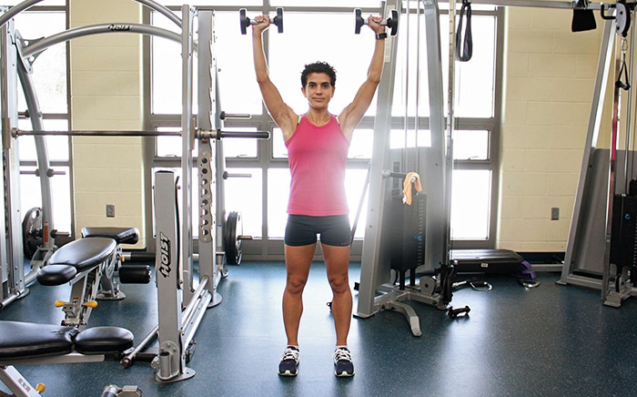 Strength Training for Triathletes Overhead Presses