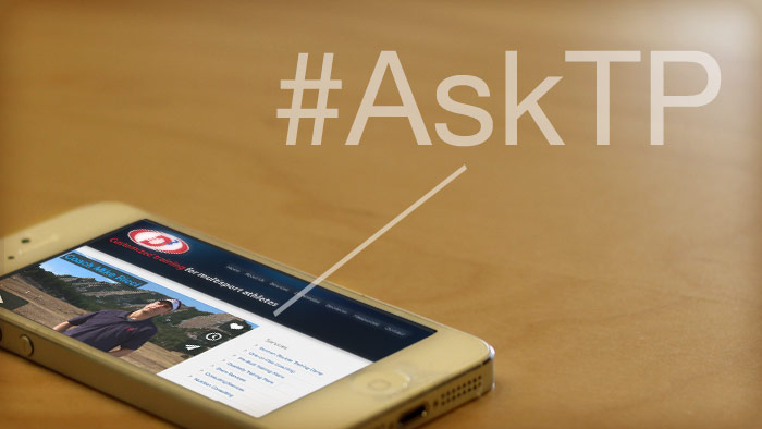 #AskTP Twitter Chat: Training For Sprint and Olympic Distance Triathlons