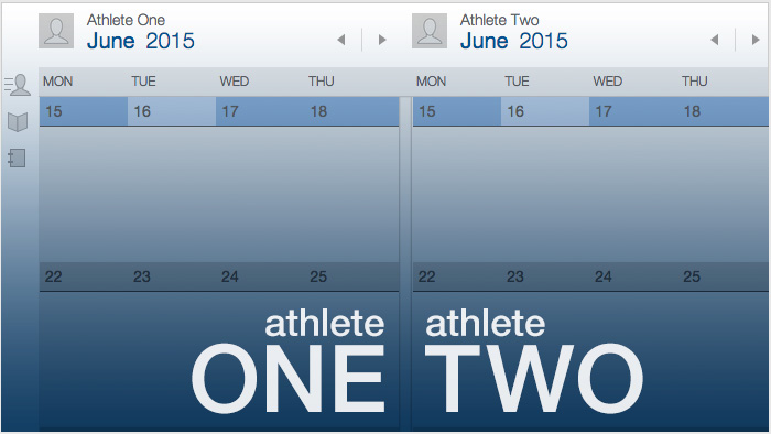Using the Dual Calendar and Group Calendar in TrainingPeaks