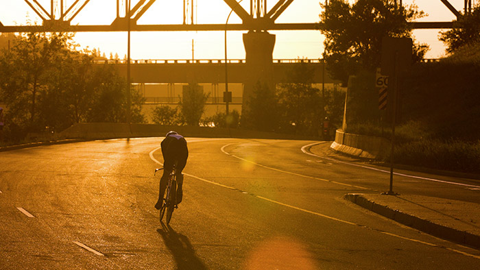 How Swimming, Biking, and Running Cultivates Self-Reliance
