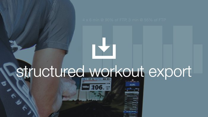 Export Workouts, Import Fitness: The Benefits of Structured Workout Exports