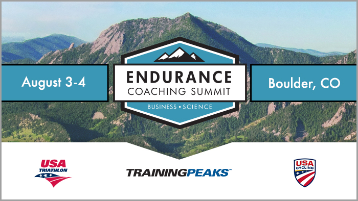Registration Now Open for the Third Annual TrainingPeaks Endurance Coaching Summit