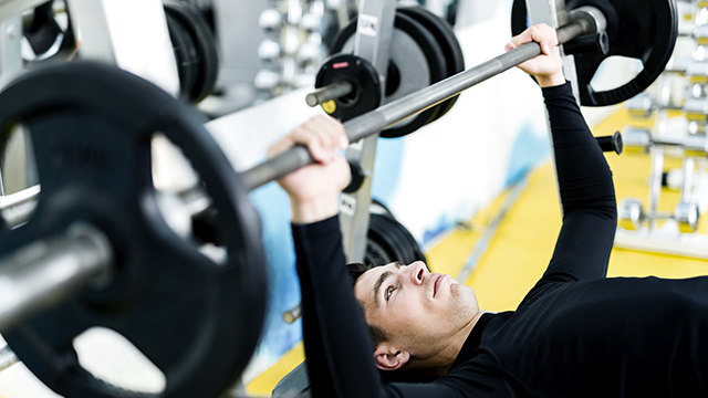 athlete strength training for power