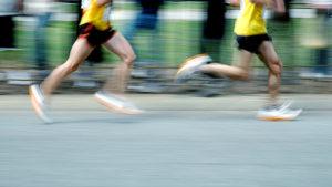 short distance running