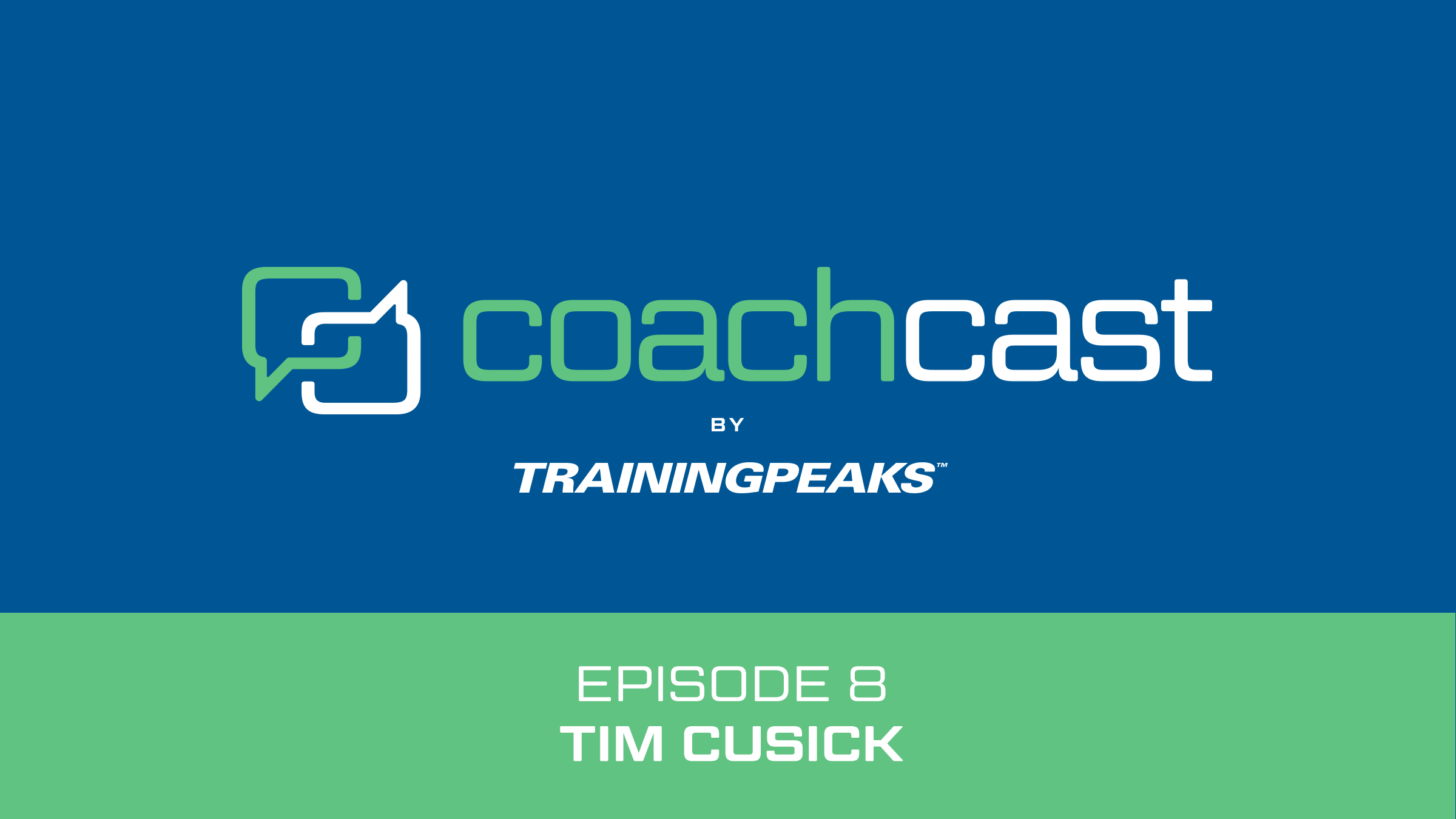 CoachCast: Data Overload with Tim Cusick