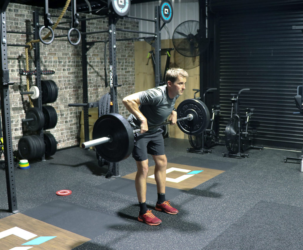 Image result for Barbell Bent-Over Row